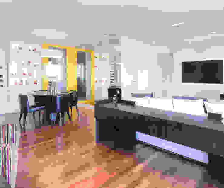 Sala de estar/jantar Salas de estar minimalistas por ArkDek Minimalista