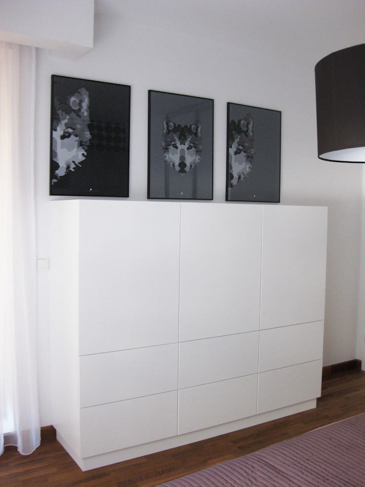 Dormitorios escandinavos de Och_Ach_Concept Escandinavo