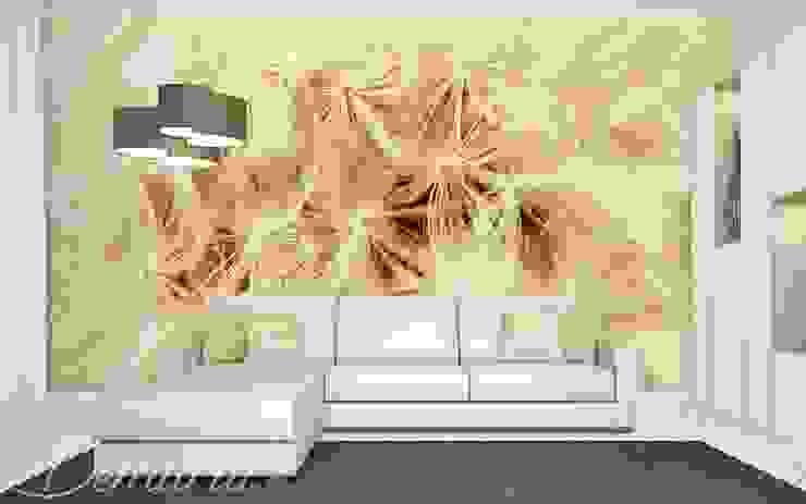 A dandelion in a macro scale: modern  by Demural, Modern