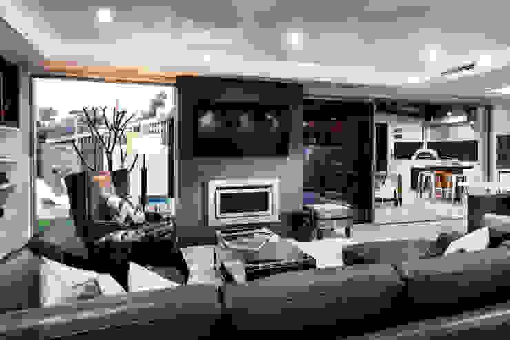 Menora Residence Ruang Keluarga Modern Oleh Moda Interiors Modern