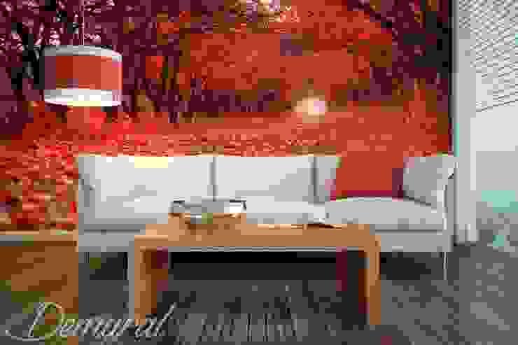 An autumn road: modern  by Demural, Modern