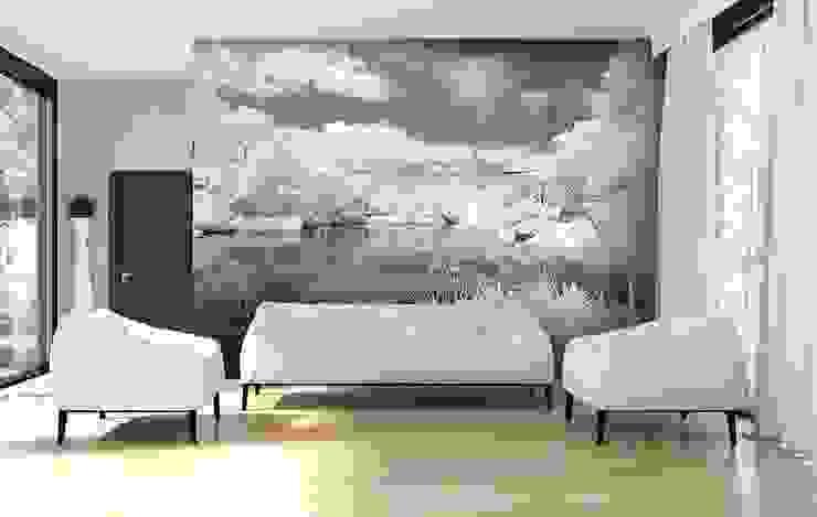 Grey lake: modern  by Demural, Modern
