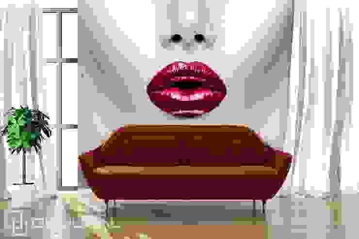Red lips: modern  by Demural, Modern