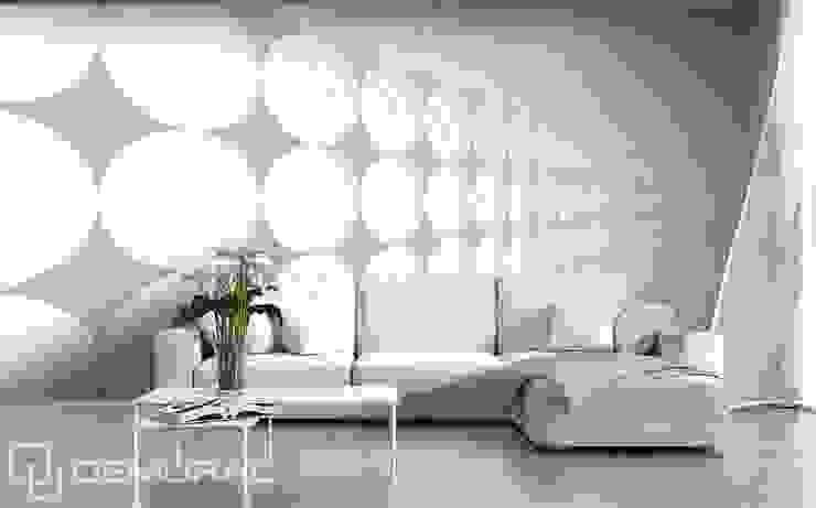 Row of lights: modern  by Demural, Modern