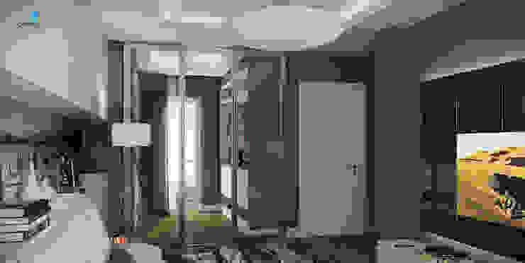 UYSAL RESIDENCE Modern Giyinme Odası Çağrı Aytaş İç Mimarlık İnşaat Modern