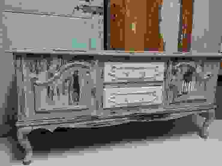 Van oude kast naar tv kast van gustaviaans vintage homestyle Rustiek & Brocante