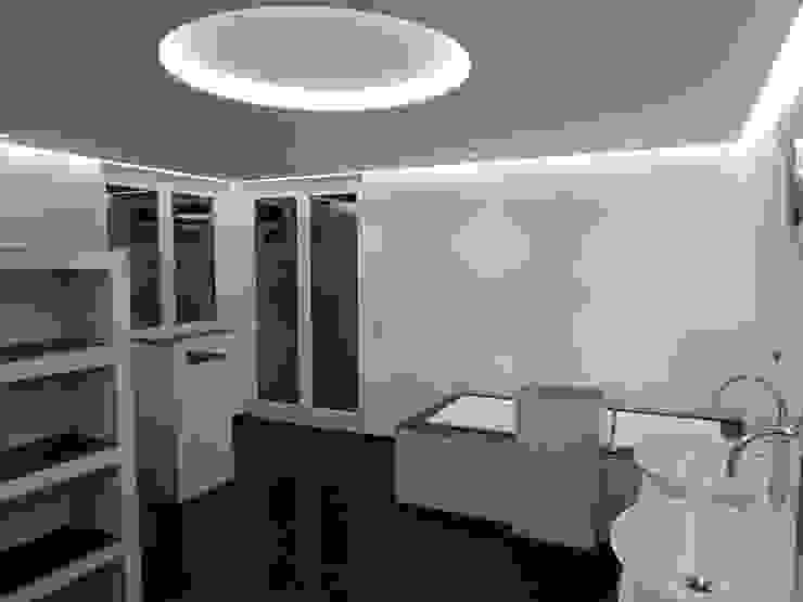 Loft Saarbrücken Moderne Badezimmer von Bolz Licht und Wohnen 1946 Modern