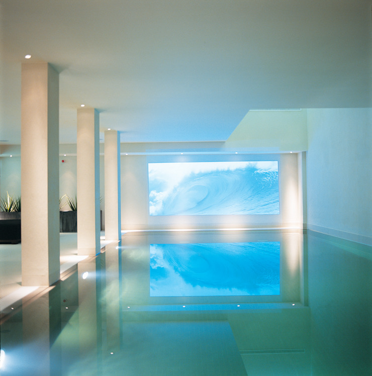 Phillimore Square Modern pool by KSR Architects Modern