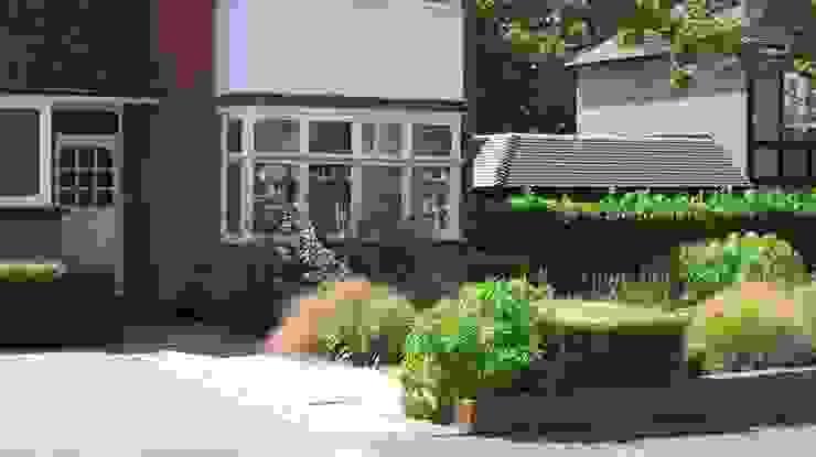 Front Garden Path Jardines de estilo moderno de Fenton Roberts Garden Design Moderno