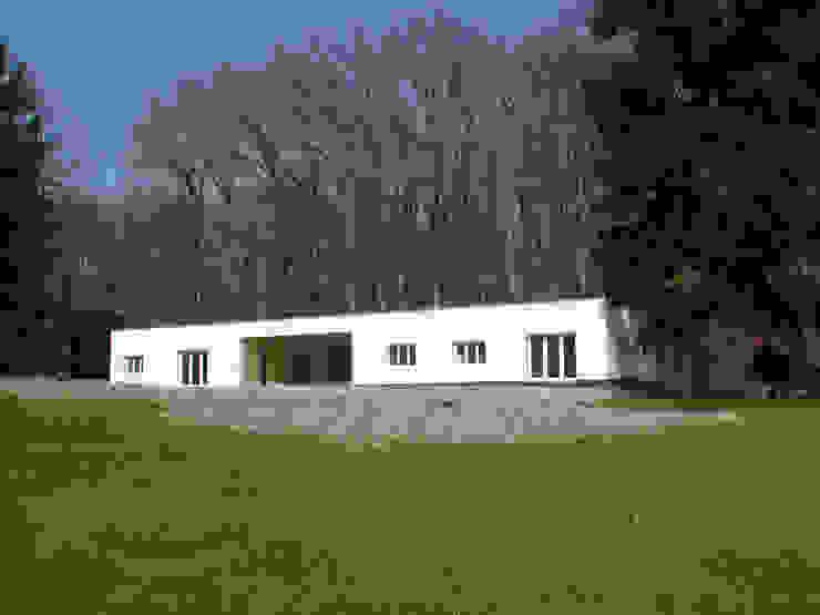 Modern Evler [GAA] GUENIN Atelier d'Architectures SA Modern