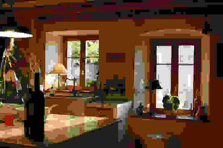 Maison à Bournens Cuisine rustique par [GAA] GUENIN Atelier d'Architectures SA Rustique