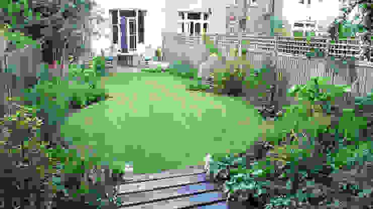 Lawn and Borders Jardines de estilo colonial de Fenton Roberts Garden Design Colonial