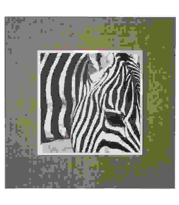 Afrika Zebra de LA CASA DE LOS CUADROS Rústico