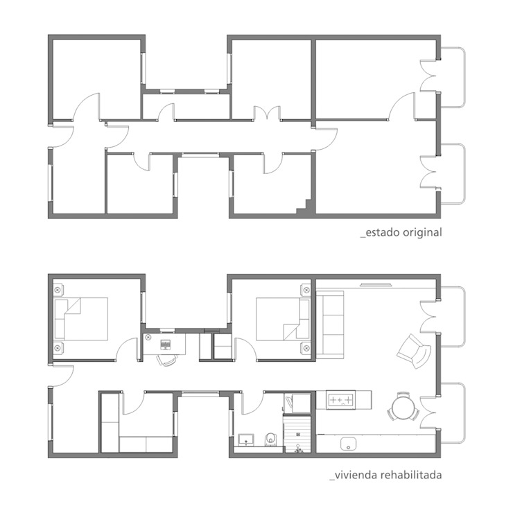 Proyecto de reforma de Torres Estudio Arquitectura Interior