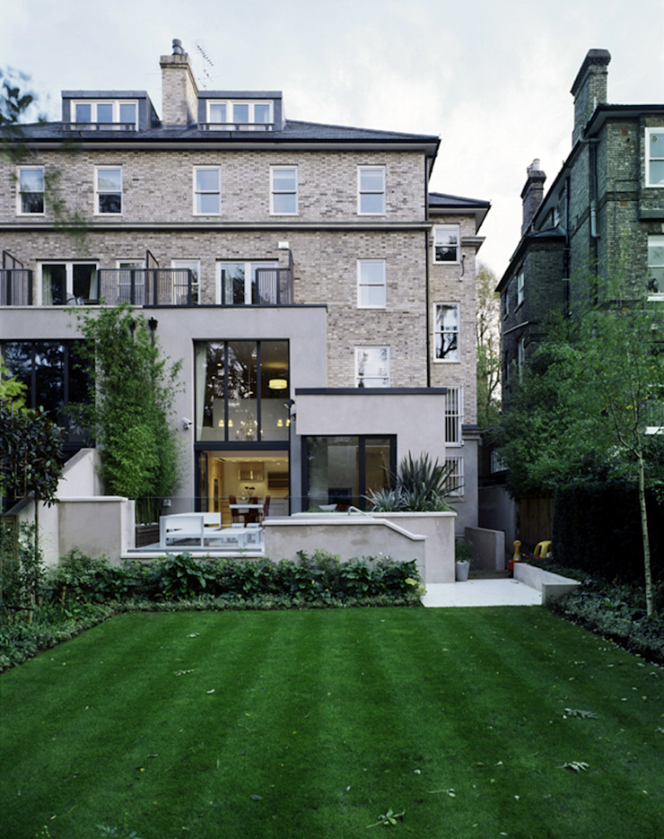 Thurlow Road 2 Modern Houses by KSR Architects Modern