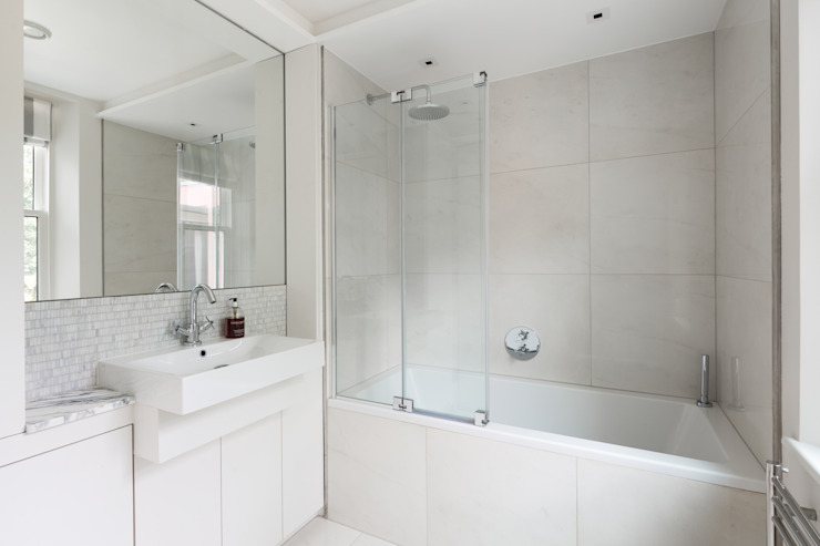 Green Retrofit, Lambourn Road Minimalist style bathroom by Granit Architects Minimalist