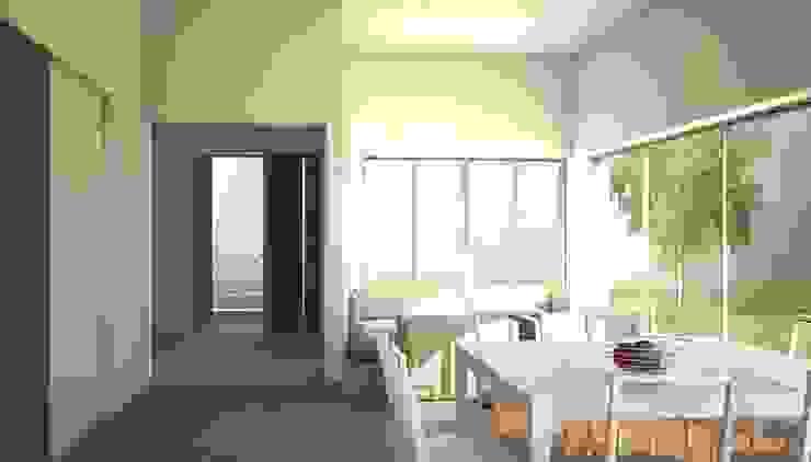 Amanali I Comedores modernos de REA + m3 Taller de Arquitectura Moderno