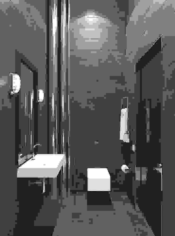 Baños de estilo minimalista de Архитектурное бюро и дизайн студия 'Линия 8' Minimalista
