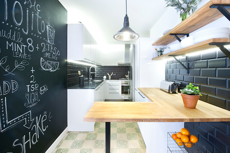 Industrial style kitchen by Egue y Seta Industrial