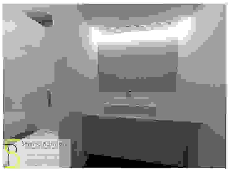 Ristrutturazione Appartamento – Caselle di Selvazzano (PD) Bagno moderno di Simone Battistotti - SB design Moderno