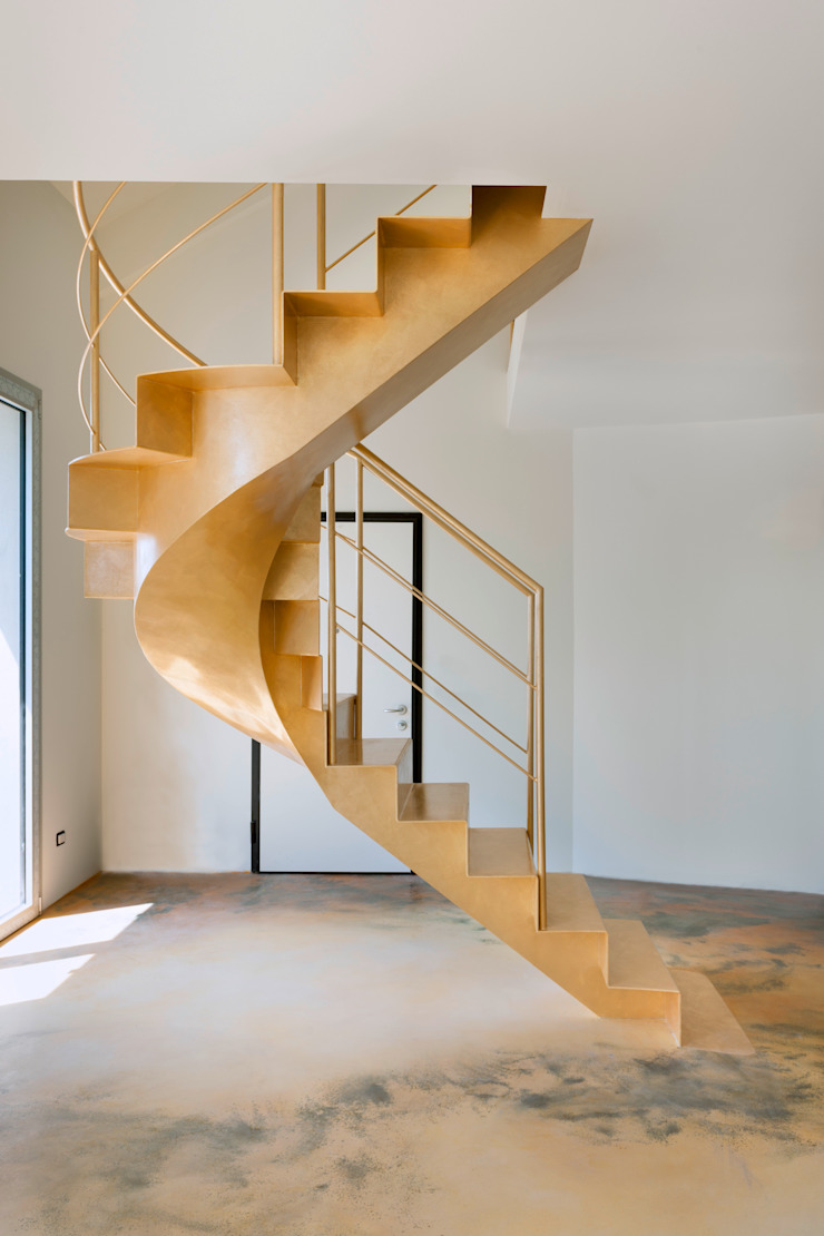 Residenza privata - Design : studio CdA - Mabelelab Ingresso, Corridoio & Scale in stile eclettico di MABELE by MA-Bo srl Eclettico