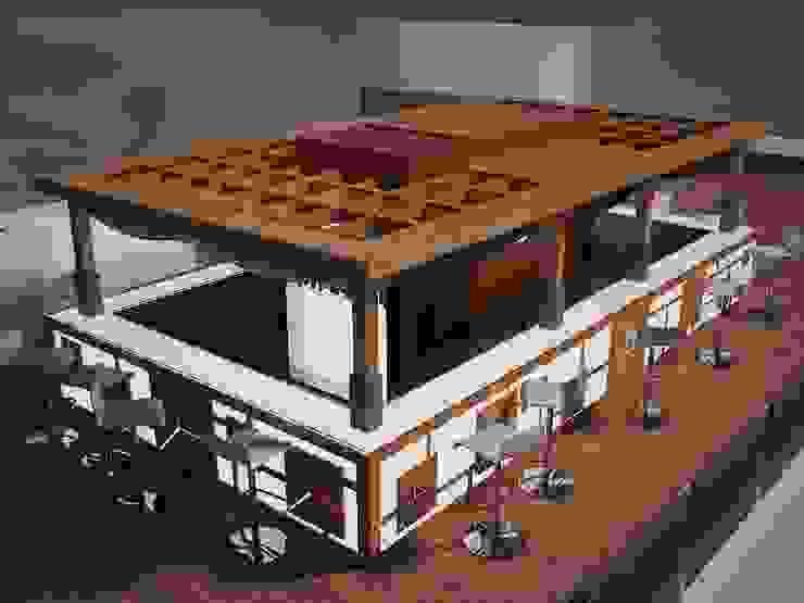 "Diseño terraza ""Club Financiero Génova"" de IPUNTO INTERIORISMO"
