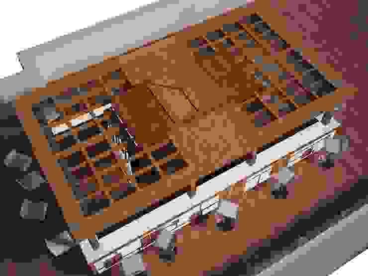 Diseño terraza <q>Club Financiero Génova</q> de IPUNTO INTERIORISMO