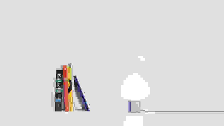 Topaze, lampe à poser par Pygmalion Studio Moderne