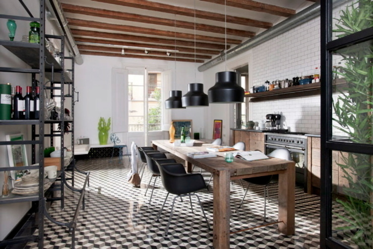 Kitchen by Egue y Seta, Industrial
