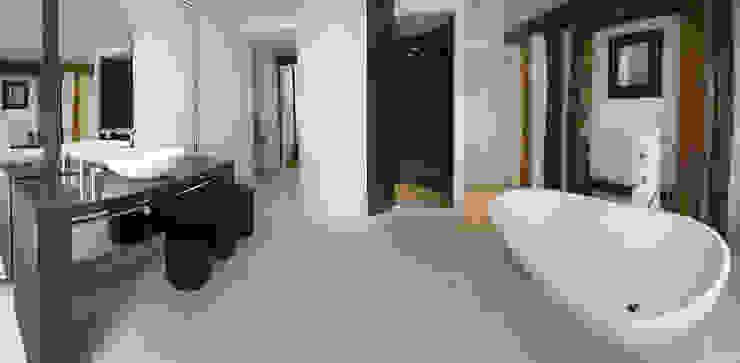 salle de bain Salle de bain moderne par Atelier TO-AU Moderne