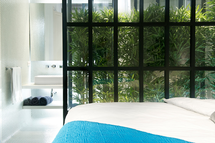 Walls & flooring تنفيذ Egue y Seta,