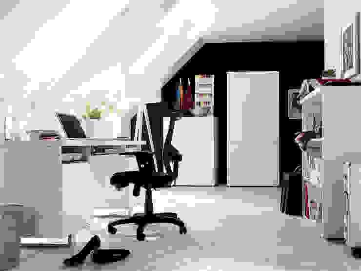 Meble biurowe Syndy Nowoczesne domowe biuro i gabinet od mebel4u Nowoczesny