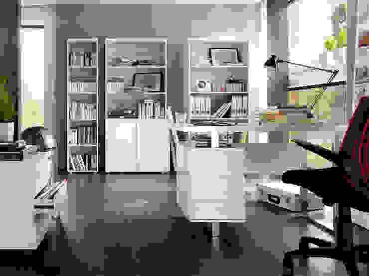 Meble biurowe Syndy : styl , w kategorii Domowe biuro i gabinet zaprojektowany przez mebel4u,Nowoczesny