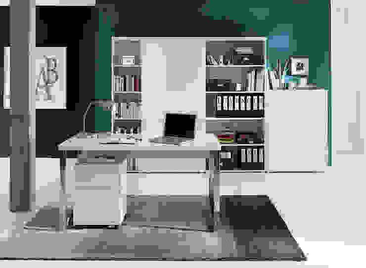 Meble biurowe Syndy Minimalistyczne domowe biuro i gabinet od mebel4u Minimalistyczny