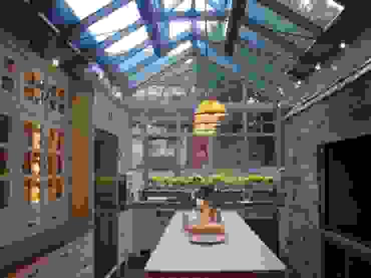A Little Bit of Italy - Loch Tay Mediterranean style kitchen by Carte Blanche Decorative Painters Mediterranean