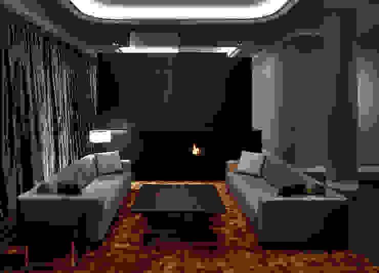 Modern Living Room by SOHOarchitekten Modern