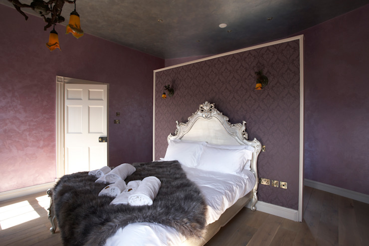 Romantic Fancy in Fettercairn Carte Blanche Decorative Painters Eclectic style hotels