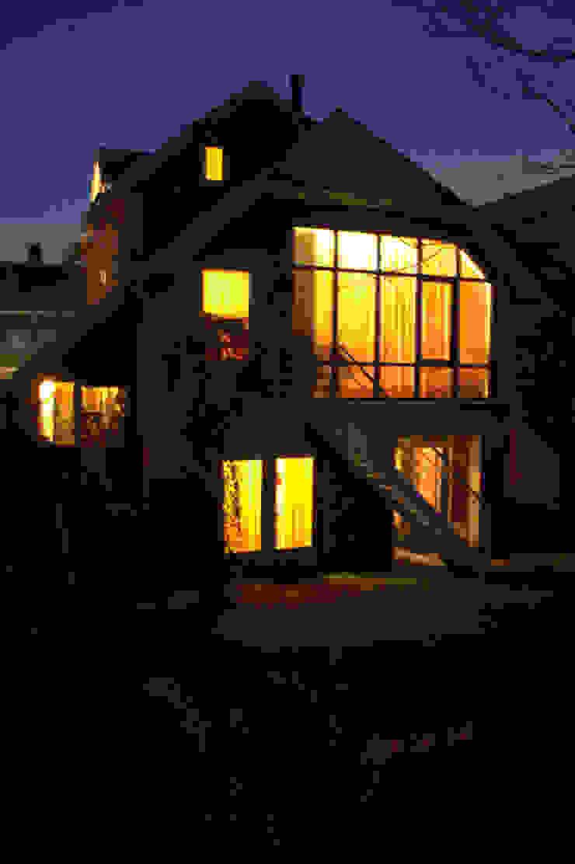 antroposofisch getint huis met wonen op de eerste bouwlaag Rustieke huizen van mickers architectuur Rustiek & Brocante