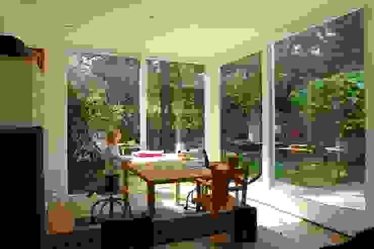 kiezen voor natuurlijke en duurzame materialen Moderne huizen van mickers architectuur Modern