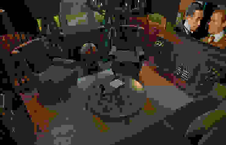 Квартира в духе Шерлока Холмса Гостиная в стиле кантри от Shop of the interiors, design studio Кантри