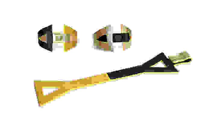 """""""Eva"""" - Bracelet en cuir réversible par CAMILLE ROUSSEL Minimaliste"""