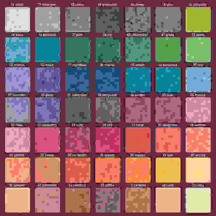 Kleuren Classis, Bassus, Kubus kaarsen: modern  door Glaswinkeltje/ DesignGlasOnline, Modern