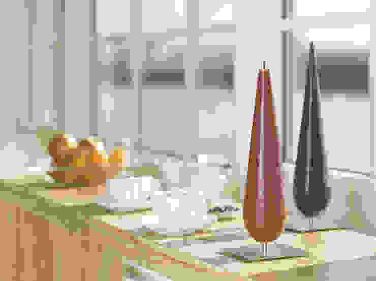 Calla Conische kaars: modern  door Glaswinkeltje/ DesignGlasOnline, Modern