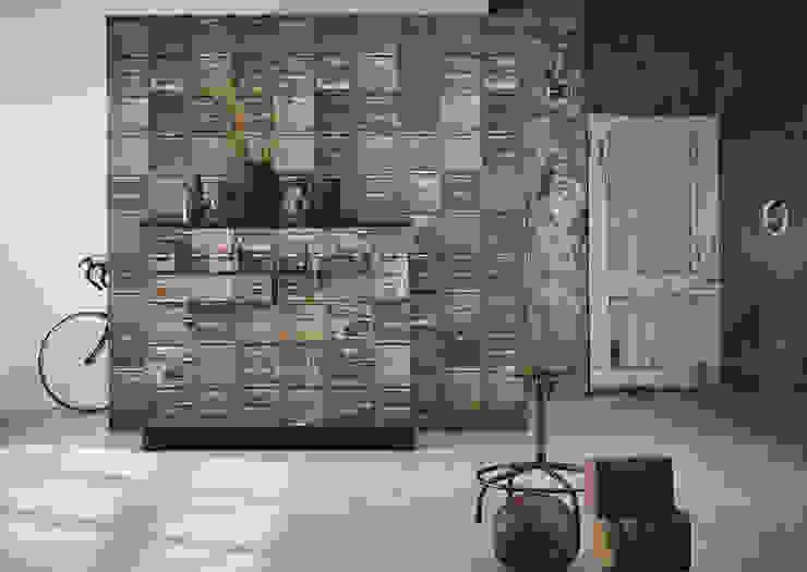 Container wallpaper Moderne muren & vloeren van Studio Ditte Modern