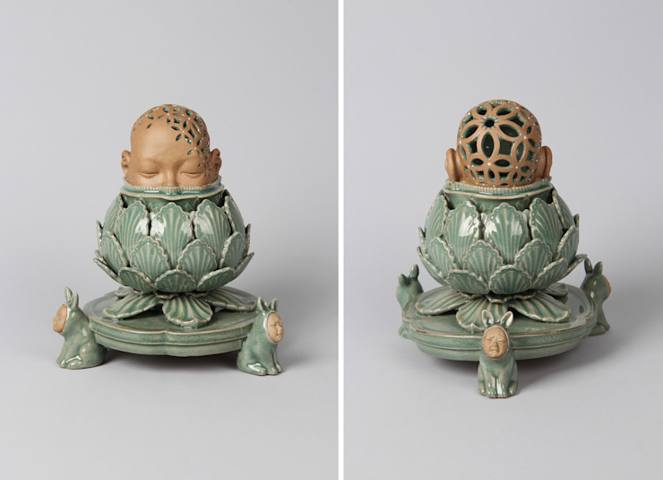 인면묘각칠보투각향로(人面卯脚七寶透刻香爐): Yoonhojun의 아시아틱 ,한옥