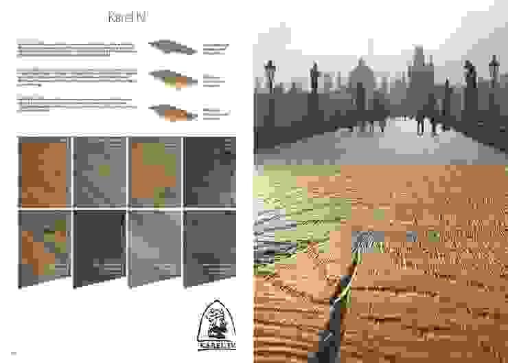Karel IV de Esco suelos de madera Rústico
