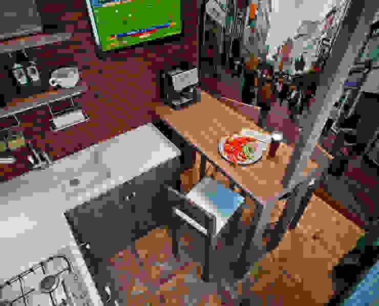 Квартира в духе Шерлока Холмса Кухня в стиле кантри от Shop of the interiors, design studio Кантри