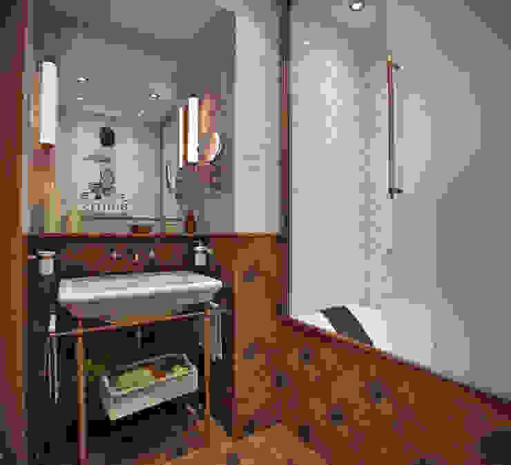 Квартира в духе Шерлока Холмса Ванная комната в стиле кантри от Shop of the interiors, design studio Кантри