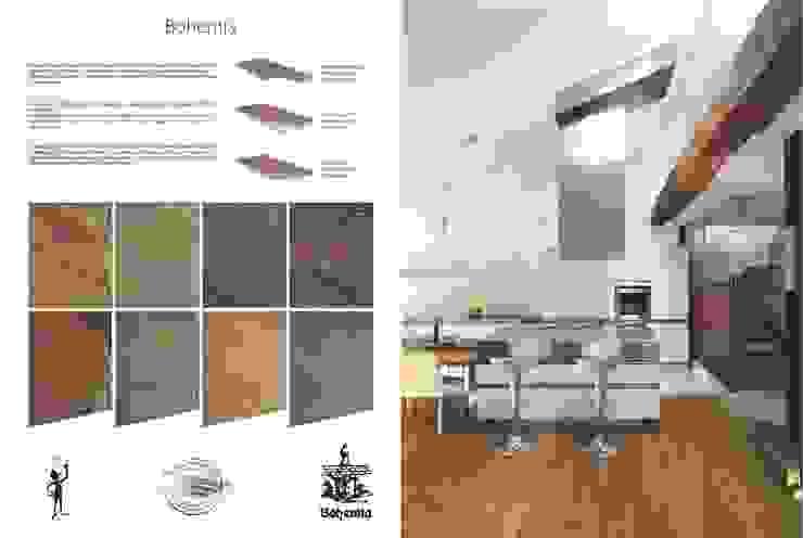 Bohemia de Esco suelos de madera Rústico