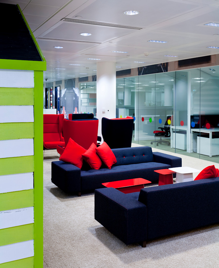 Google London Modern office buildings by Hitch Mylius Modern